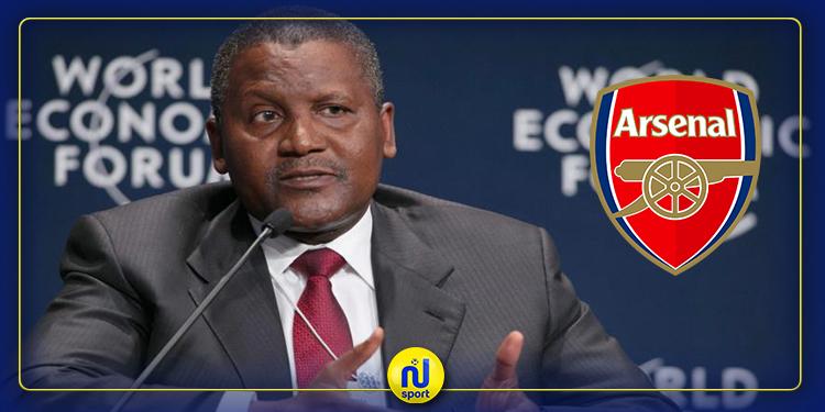 البريمرليغ: أغنى رجل في أفريقيا يستعد لشراء نادي أرسنال الإنقليزي