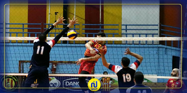 الكرة الطائرة: برنامج منافسات الجولة الثالثة عشرة لبطولة القسم الوطني (أ)