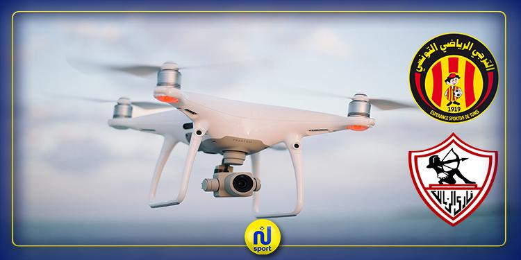 خاص بنسمة سبور.. لأول مرة: إستعمال طائرات الدرون لتأمين مواجهة الترجي والزمالك