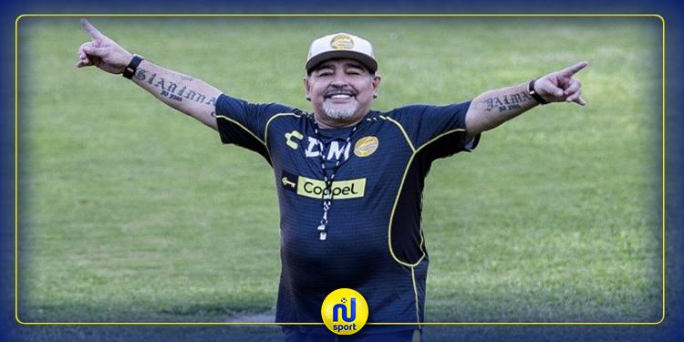 دييغو مارادونا يعرض تخفيض راتبه كمدرب في نادي خيمناسيا