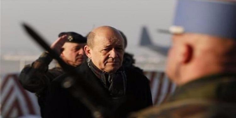 """وزير الدفاع الفرنسي : معركة الرقة في سوريا ستبدأ """"في الايام المقبلة"""""""