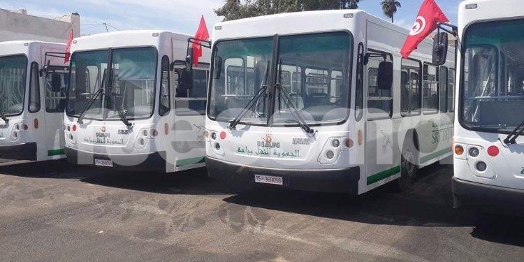 باجة : الشركة الجهوية للنقل تدعم أسطولها من الحافلات (صور)
