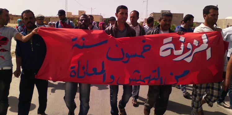 سيدي بوزيد : الاعتداء على المعتصمين بمقر معتمدية المزونة