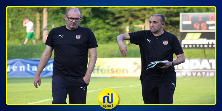 النمساوي المدرب التونسي محمد الساحلي يشرف على تدريب فولسبرغر