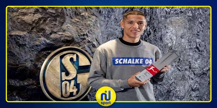 المغربي أمين حارث لاعب الشهر في الدوري الألماني