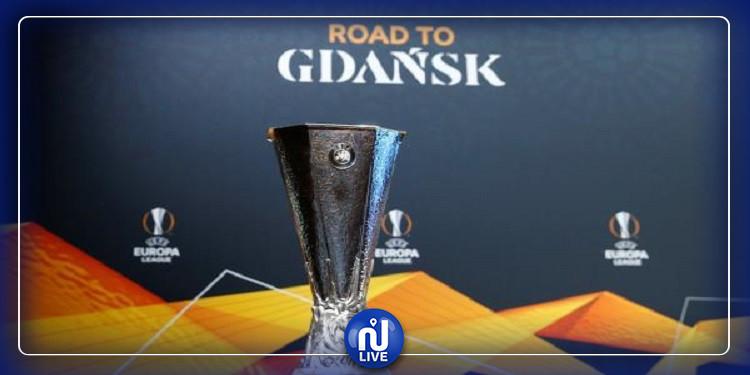 قرعة الدور ثمن النهائي من الدوري الاوروبي تسفر عن مباريات قوية