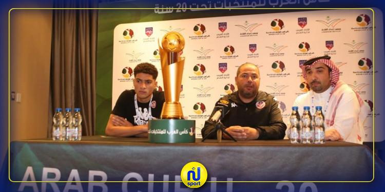 نهائي كأس العرب للمنتخبات : هشام الصيد يؤكد جاهزية اللاعبين