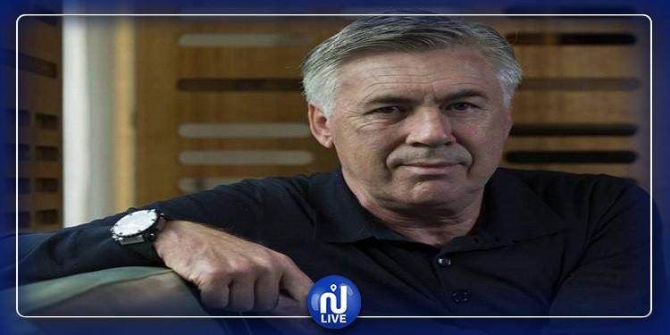 ايفرتون : فرض غرامة مالية على المدرب كارلو أنشيلوتي