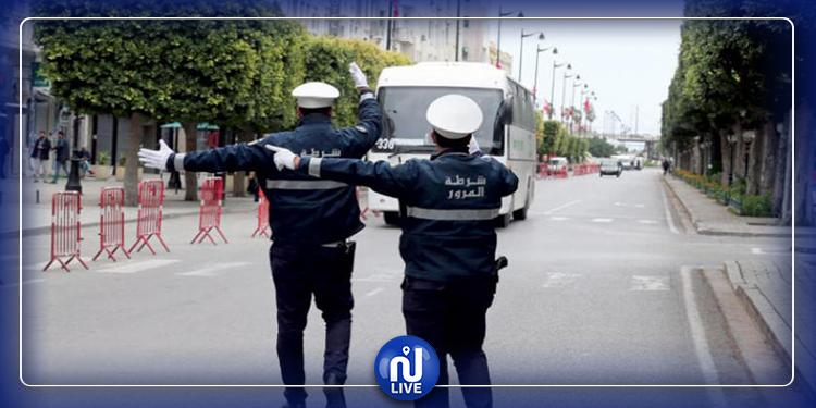 زغوان: غلق 11 محلا وسحب 16 رخصة سياقة من أجل مخالفة الحجر الصحي الشامل