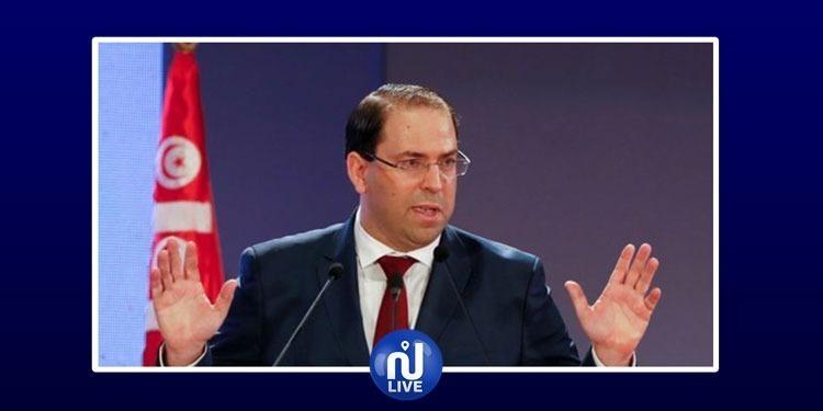الشاهد يتوجه بكلمة إلى الشعب التونسي بخصوص الإضراب العام