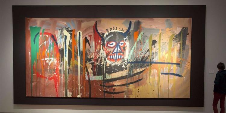 Vente record: 57,2 millions de dollars pour un tableau de Basquiat