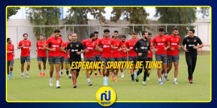 الترجي التونسي : يوم راحة للمجموعة..وهذا موعد إستئناف التدريبات