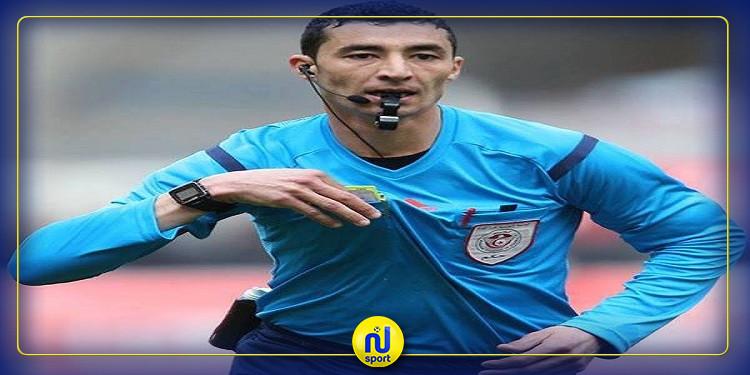 أمير لوصيف يدير مباراة النادي البنزرتي والترجي التونسي