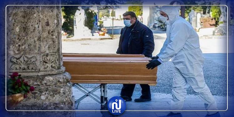 إسبانيا : 5756 حالة جديدة بفيروس كورونا