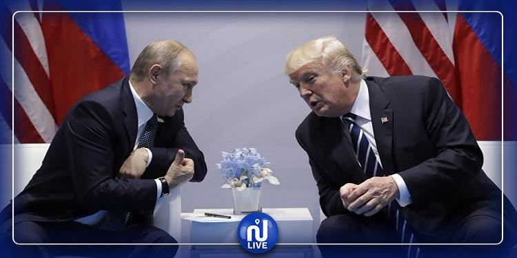 بوتين يطلب مساعدة أمريكا لمواجهة وباء كورونا