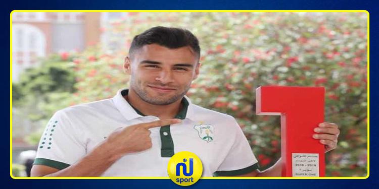 التونسي حسام اللواتي يُتوج بجائزة أفضل لاعب في الدوري اللبناني