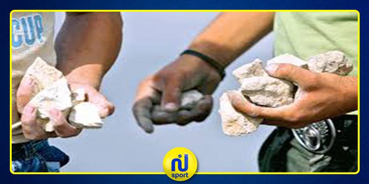 تعرض جماهير الوداد البيضاوي للرشق بالحجارة من طرف عناصر مجهولة