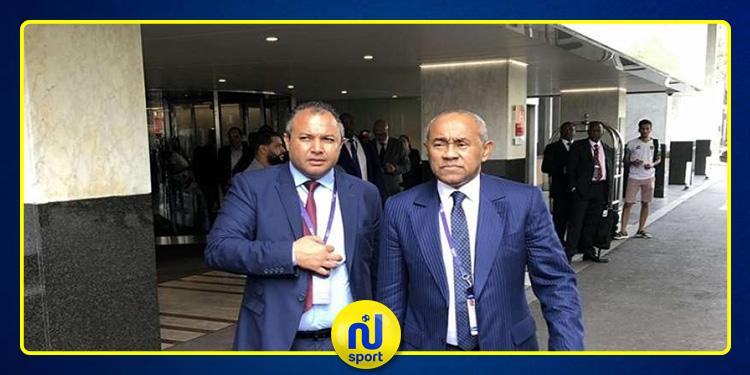 أحمد أحمد يصل القاهرة قبل أسبوع من انطلاق كأس أمم إفريقيا