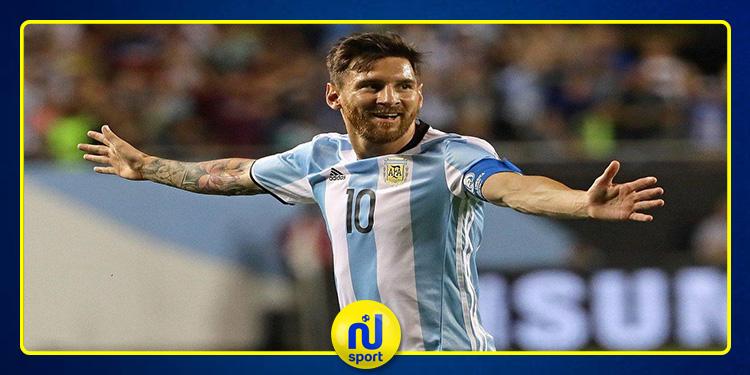 ميسي يقود الأرجنتين إلى اكتساح منتخب 'نيكاراغوا' بخماسية