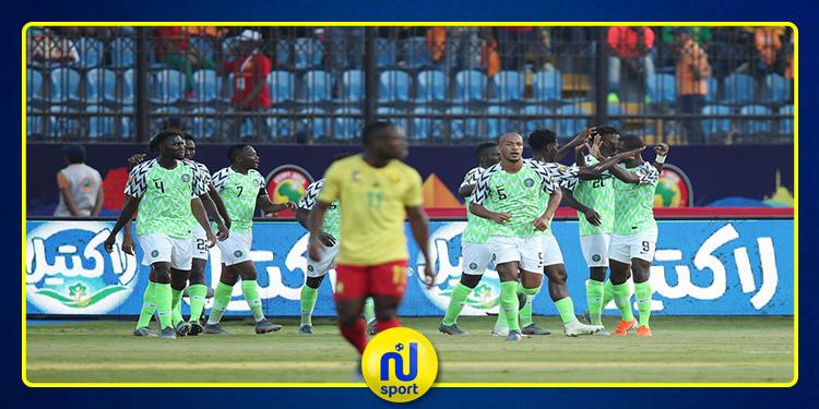 'كان' 2019: نيجيريا تقصي الكامرون وتتأهل إلى الدور ربع النهائي