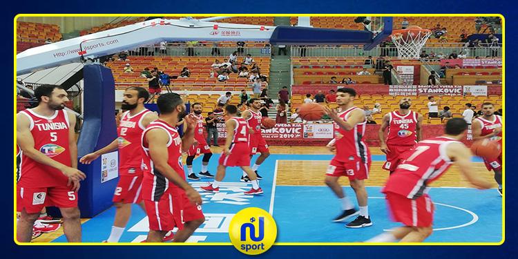 كرة السلة: المنتخب التونسي يخسر أمام الصين في دورة 'ستانكوفيتش' الودية