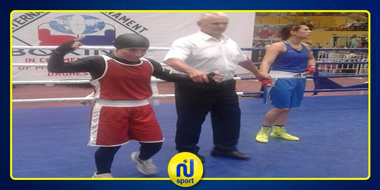ملاكمة: خلود حليمي تتحصل على الميدالية الفضية في دورة روسيا الدولية