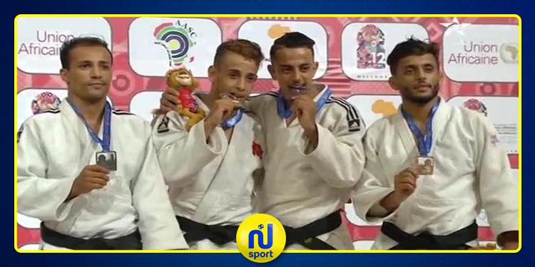 جودو: فرج الذويبي يحرز ميدالية فضية في الألعاب الإفريقية