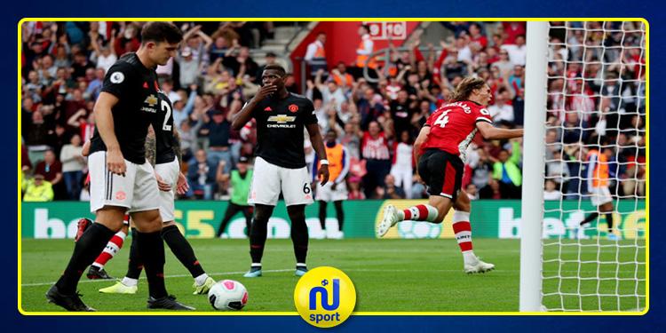 البريميرليغ: مانشستر يونايتد يسقط في فخ التعادل أمام ساوثهامبتون