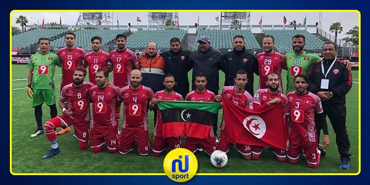 مونديال الميني فوت: لفتة معبرة من لاعبي المنتخب التونسي نحو لاعبي المنتخب الليبي