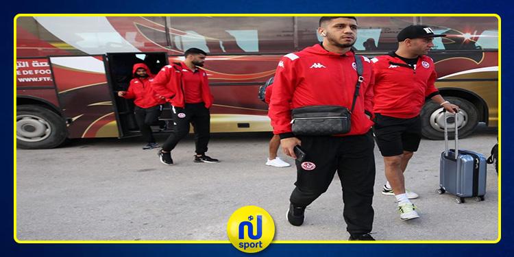 استعدادا لملاقاة غينيا الاستوائية: المنتخب التونسي يشد الرحال إلى 'مالابو'