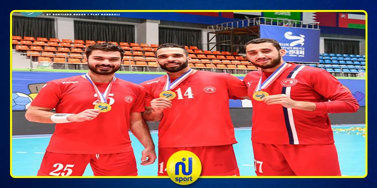 كرة اليد: ثلاثي تونس يقود نادي العربي القطري للتتويج ببطولة آسيا للأندية الأبطال