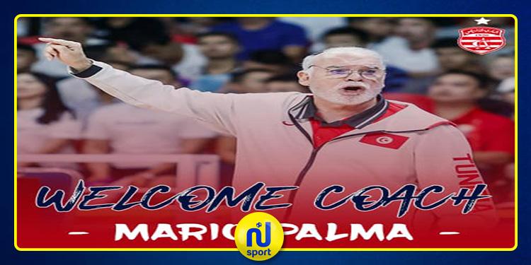 النادي الإفريقي: 'ماريو بالما' مدربا جديدا لأكابر كرة السلة