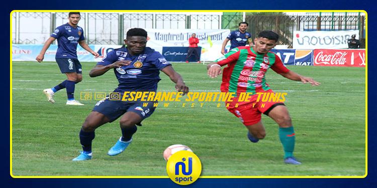 الرابطة الأولى: الملعب التونسي يخفّض من سرعة الترجي الرياضي