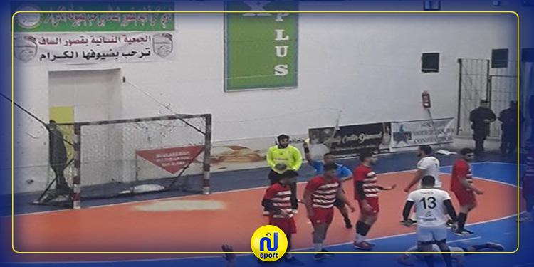 كرة اليد: نادي قصور الساف يفوز على النادي الإفريقي