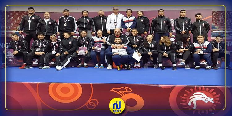 مصارعة: 15 ميدالية للمنتخب التونسي في اليوم الخامس من البطولة الإفريقية