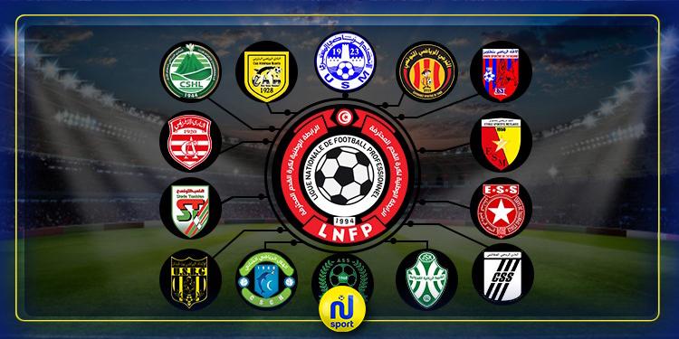 بعد مواجهتي اليوم: الترتيب الجديد للرابطة المحترفة الأولى لكرة القدم