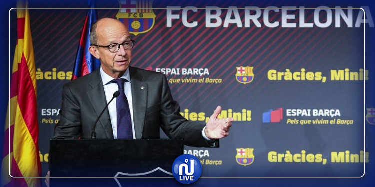 نائب رئيس برشلونة يُصاب بفيروس كورونا