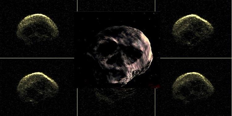 الكويكب 'الجمجمة' يقترب من الأرض في 2018! (صور)