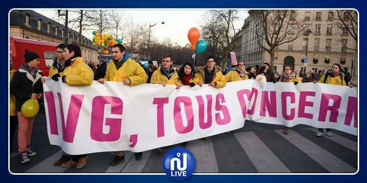 Les anti-avortement manifestent à Paris
