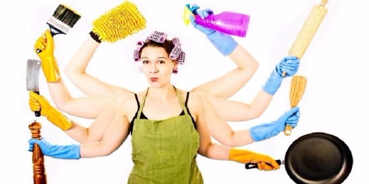 النساء اللواتي يقمن بالأعمال المنزلية قد يعشن لوقت أطول!