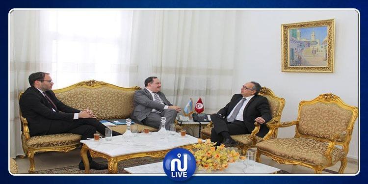 وزير العدل يستقبل سفير الأرجنتين بتونس