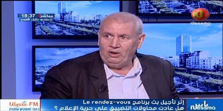 مصطفى بن أحمد يتعهد بإستدعاء الأطراف الحكومية المعنية لمساءلتهم بخصوص موضوع الصنصرة وايقاف البرامج التلفزية