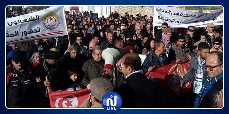 Kef-Grève : Forte participation atteignant plus de 95%