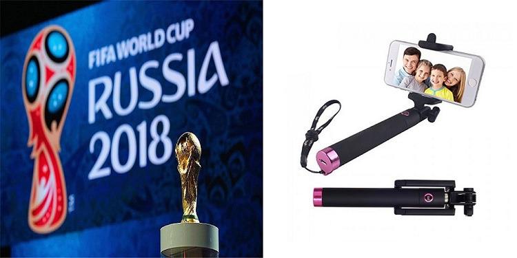 """كأس العالم 2018: الفيفا يمنع عصا الـ""""سيلفي"""" في ملاعب روسيا"""