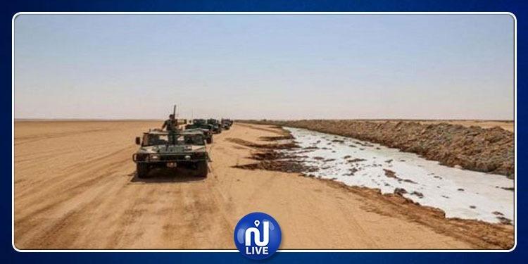 إيقاف ثلاثة تونسيين داخل المنطقة الحدودية العازلة