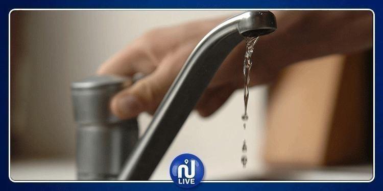 بداية من الغد: إنقطاع في التزود بالماء في هذه المناطق