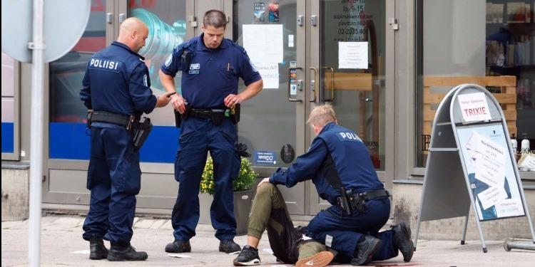 'مشكاح' يعترف بارتكابه عملية الطعن بفنلندا