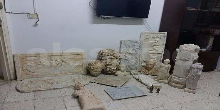 Grombalia : Saisie de 20 pièces archéologiques