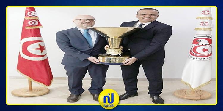 وفد عن فريق جوفنتوس في ضيافة الجامعة التونسية لكرة القدم
