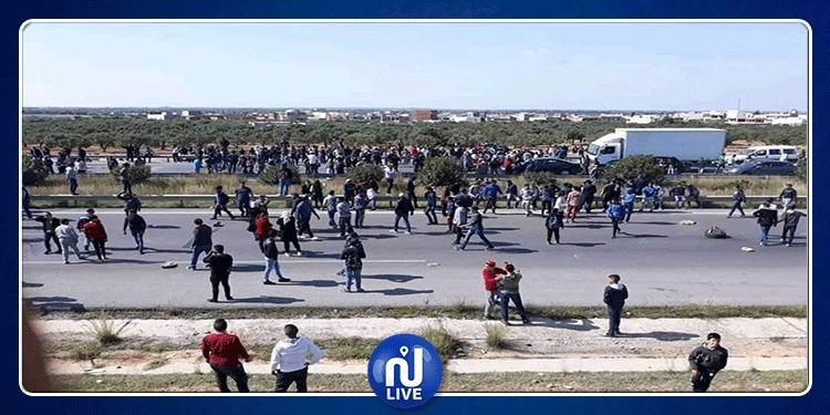 سوسة: تسوية وضعية عمال مصنع الألبان وبداية فتح الطرقات